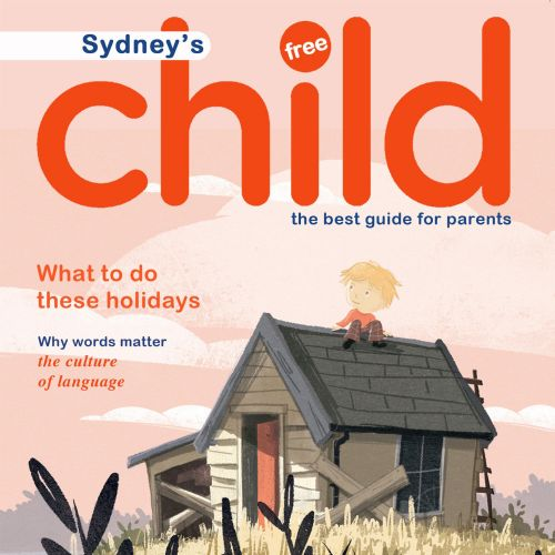 Magazine Cover Design For Sydney's Child