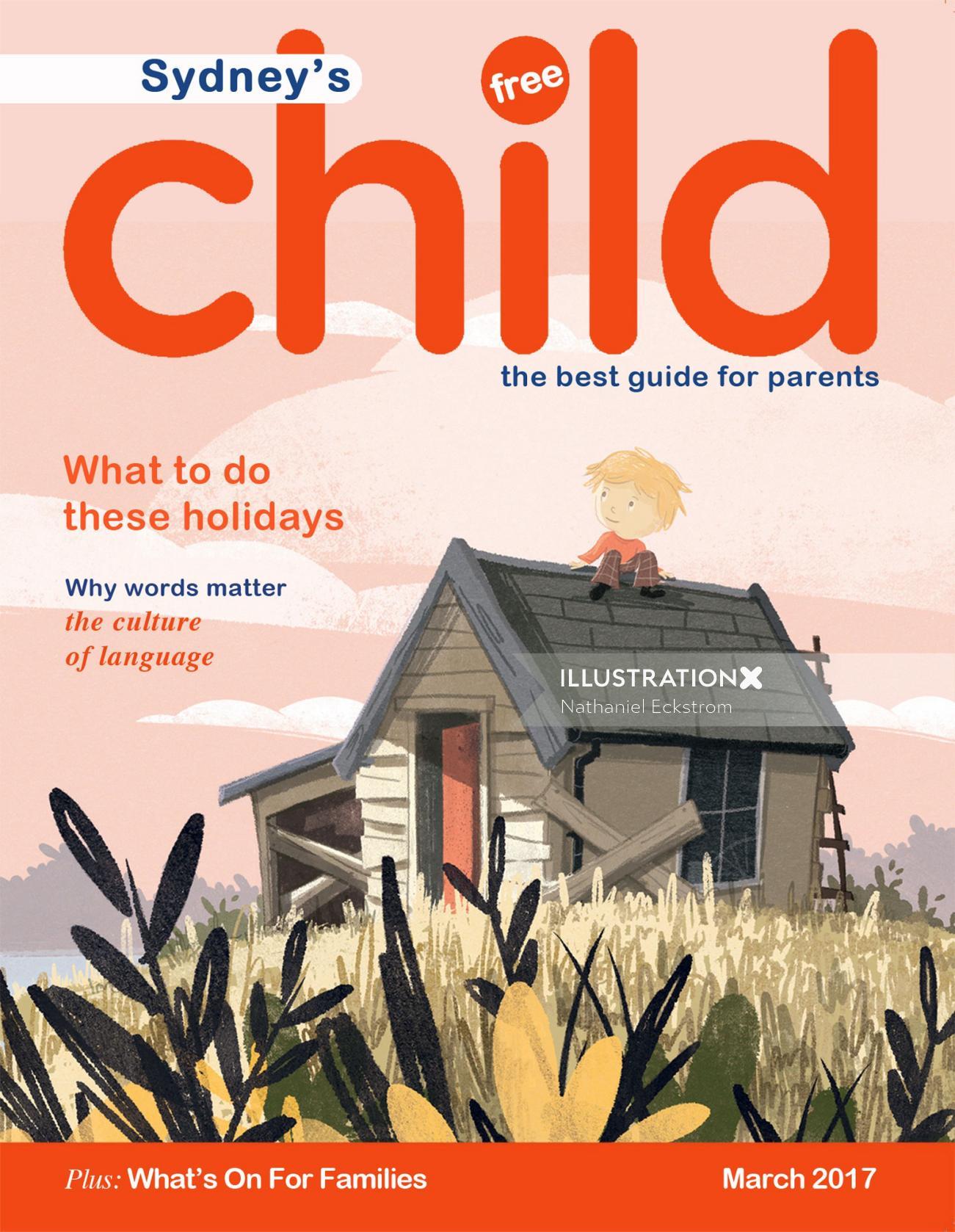 Magazine Cover Design For Sydney's Child