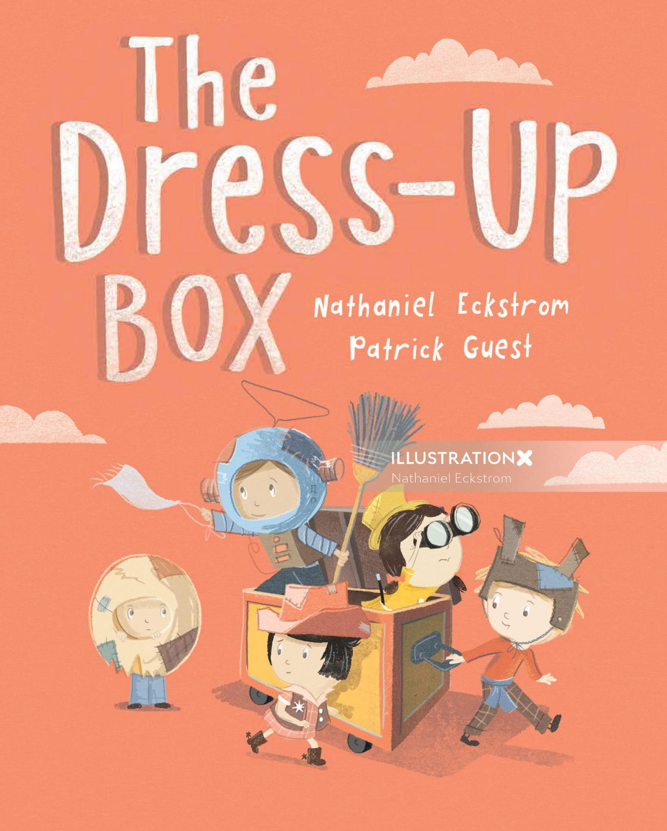 The Dress-Up Box Book Cover Art