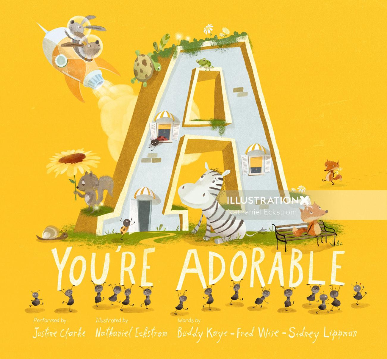 """A You're Adorable"" - Front Cover Art"