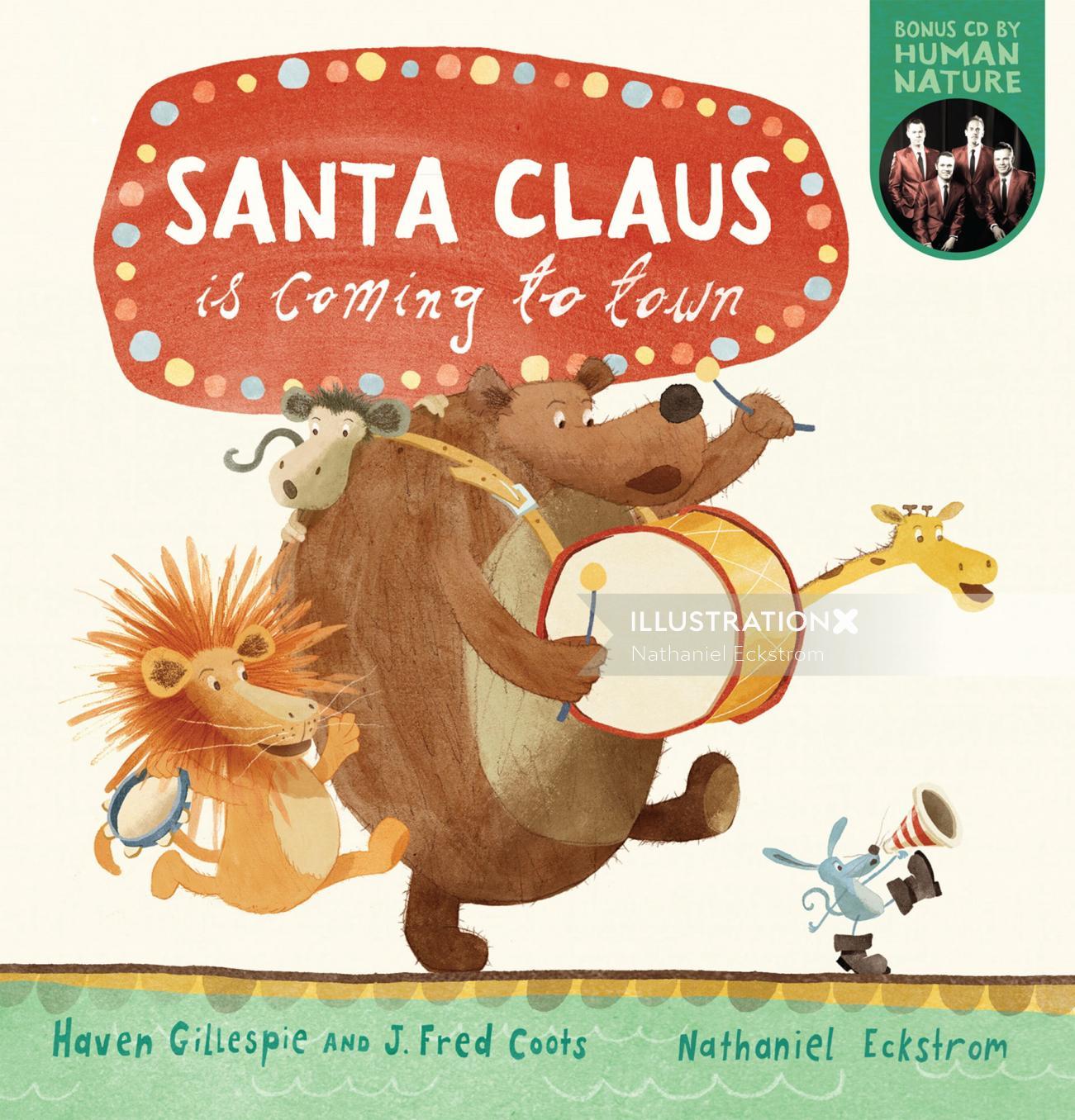 Children's Book Illustration By Nathaniel Eckstrom