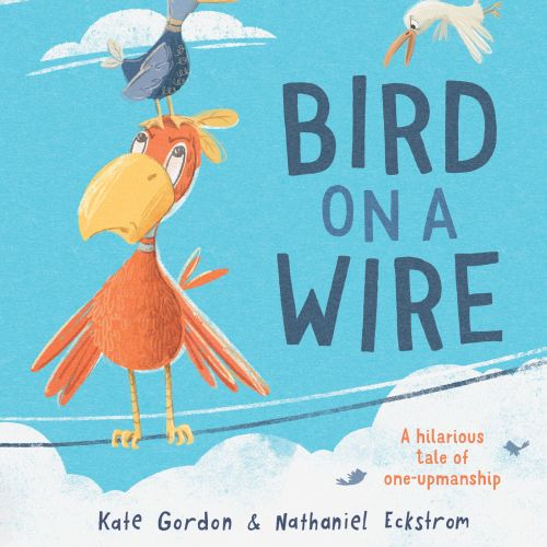 Bird on a Wire book cover design for Little Hare Publishing