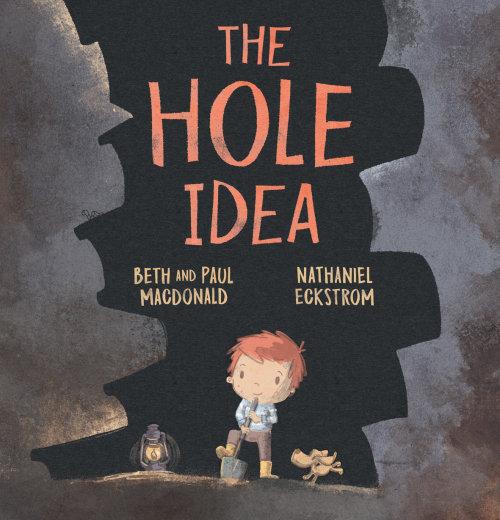 Book Trail Press the hole idea pencil art