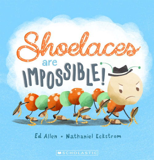 Shoelaces are Impossible book cover design for Scholastic Australia