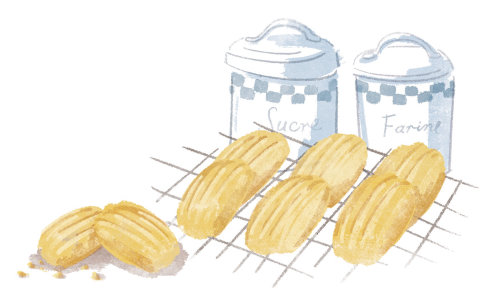 Digital pencil art for waitrose magazine