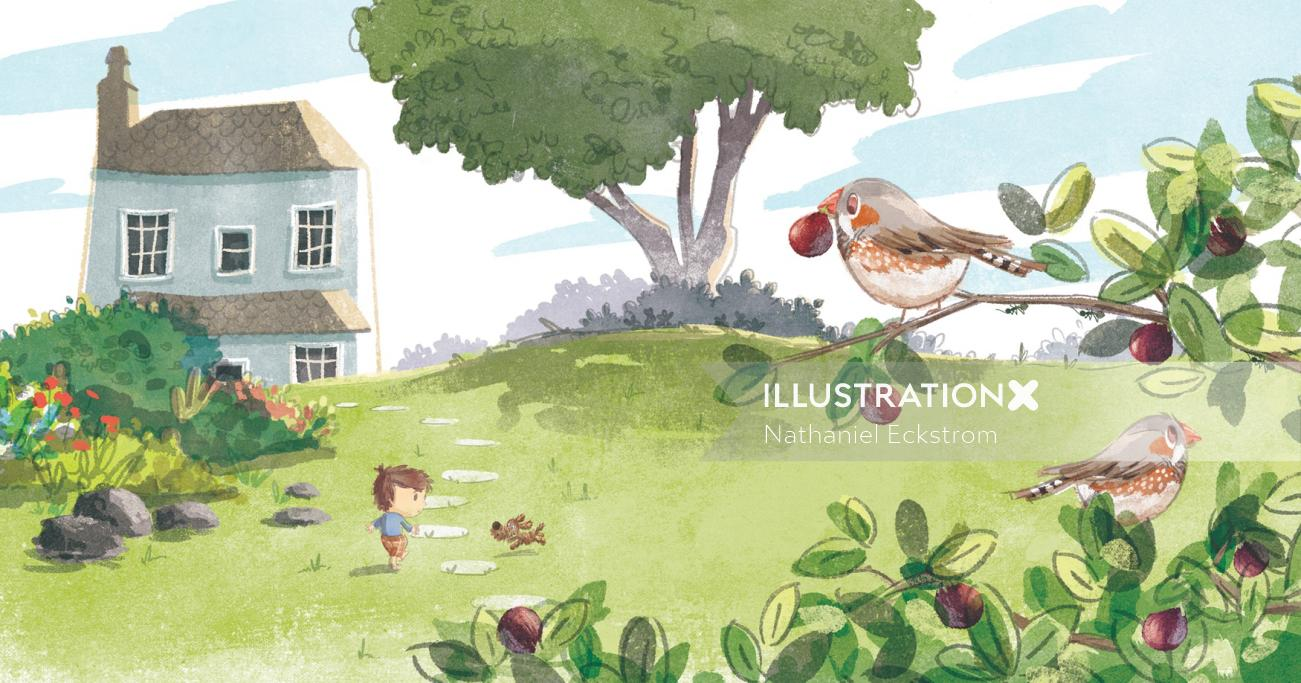 Ten Little Figs - Picture Book