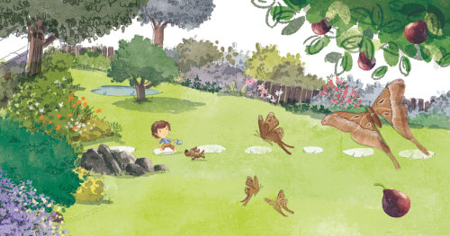 儿童伊卢斯特拉顿公园