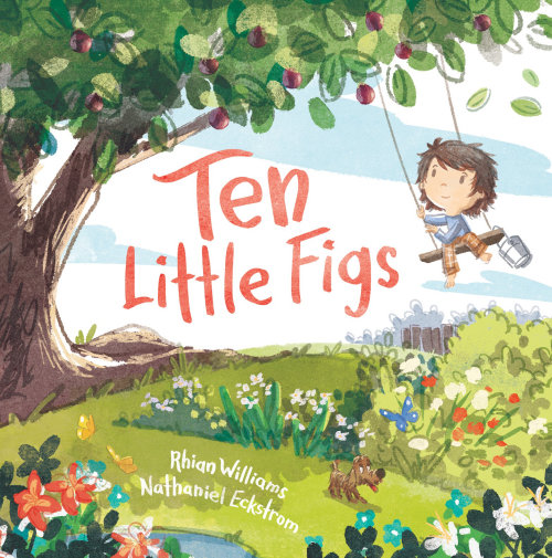 Design de capa de livro de Ten Little Figs para Walker Books