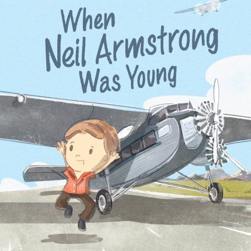 Children Neil armstrong picture book