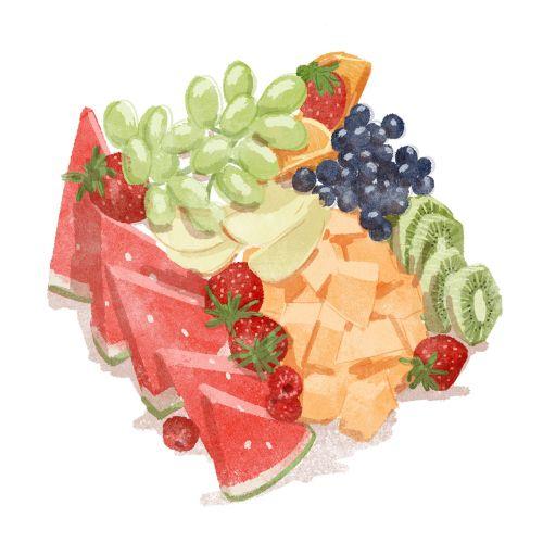 Food & drinks fresh fruits
