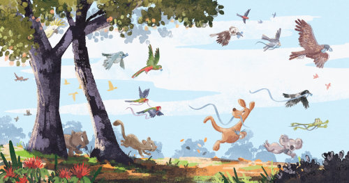 An Aussie Christmas Gum Tree - Picture Book
