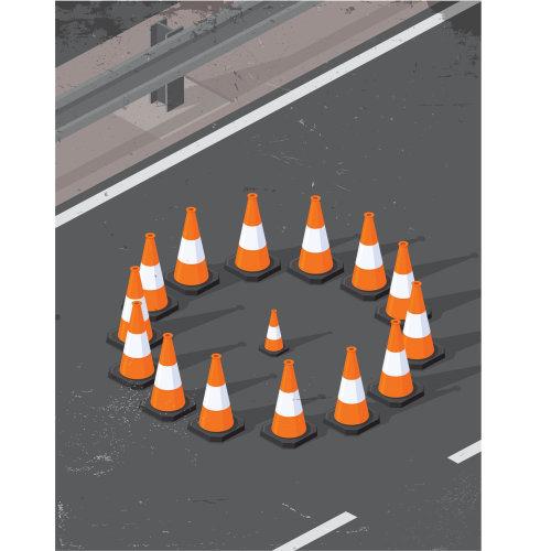 Vector traffic blocks