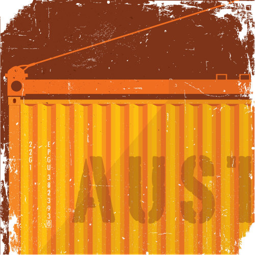 Graphic of AUST container