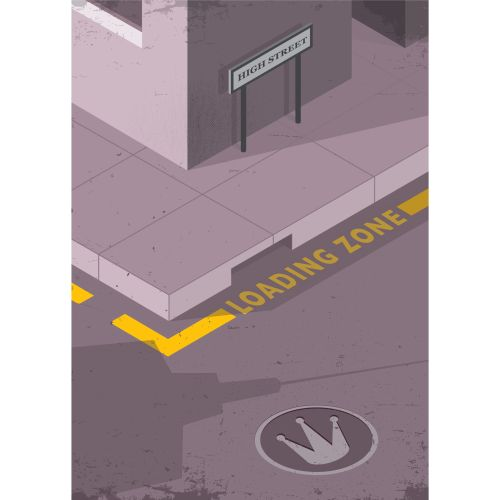 Graphic of loading zone