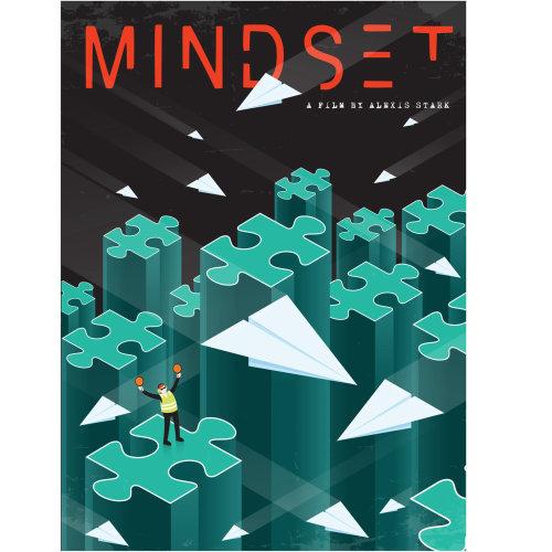 Digital Illustration mindset book cover