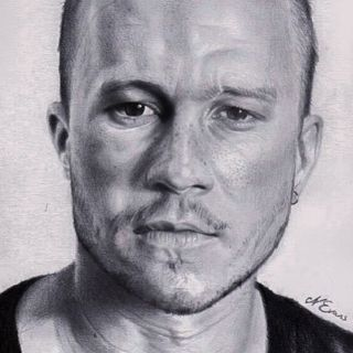 Heath Ledger portrait