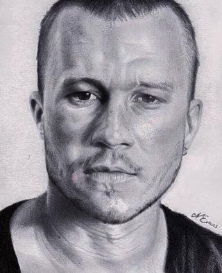 Heath Ledger portrait