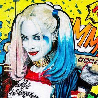 Harley Quinn played by Margot Robbie portrait