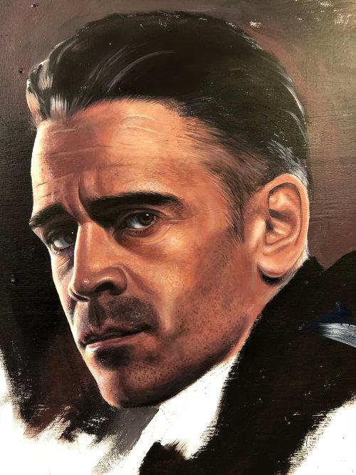 Colin Farrell portrait