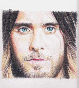 Jared Leto Portrait Painting