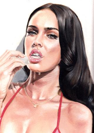 Oil Portrait of woman