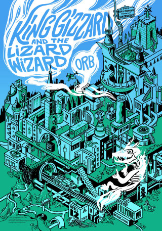 Poster for Kinggizzard and the Lizard Wizard