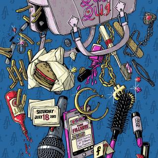 Bon Qui Qui Fillmore Poster
