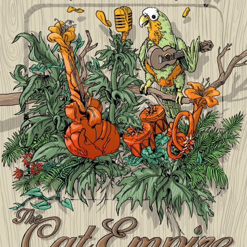 Poster for Cat Empire at the Fillmore, San Francisco