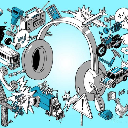 isometric, sound scape headphones
