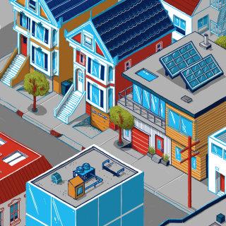 isometric SF streets