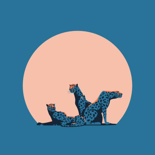 Poster design of dreamers cheetahs