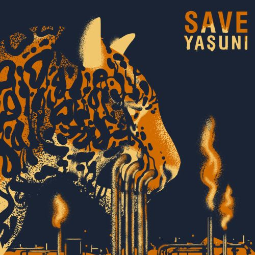 Cover poster design for Save Yasuni National Park