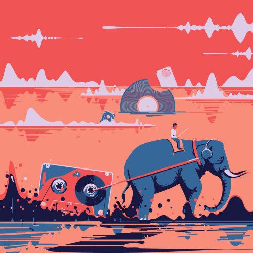 Sound maker cover design by Nikolai Senin