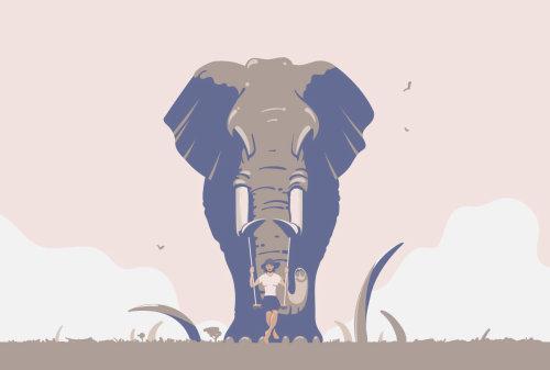 大象数字绘画