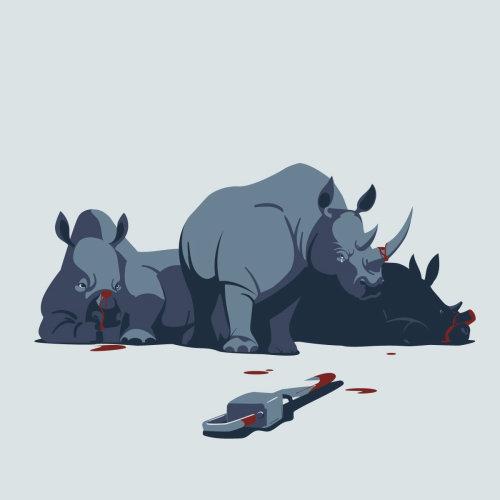 拯救动物的概念图