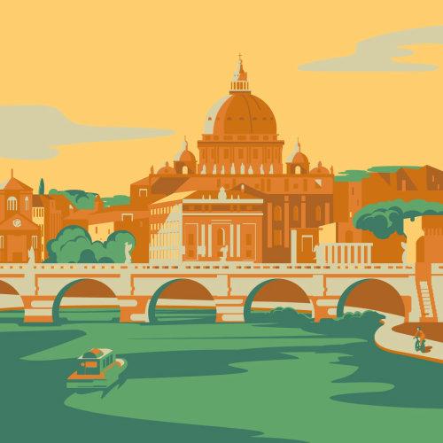罗马的海报设计