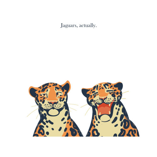 Digital portrait of Jaguars