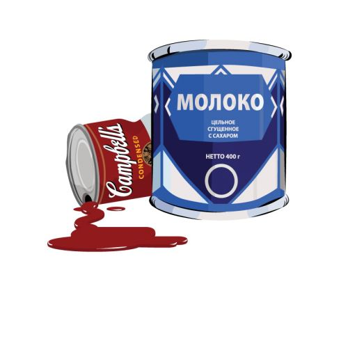 Packaging illustration of Condensed milk