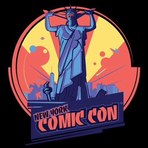 Comic Con NYC poster design