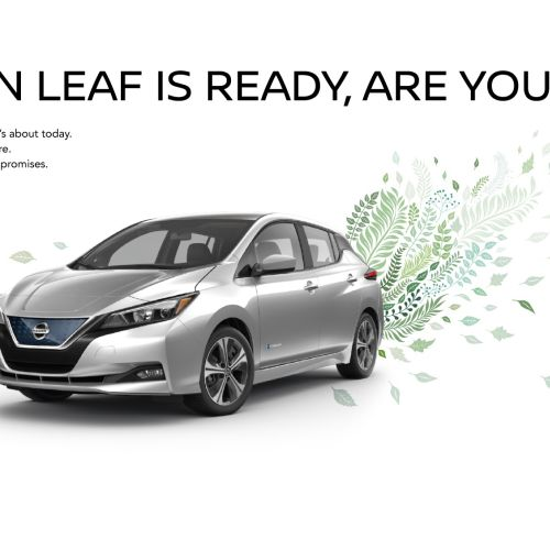 Vector illustration for Nissan Leaf Advert Concept