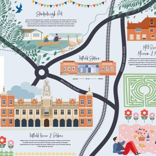 Map Illustration by Nina Hunter