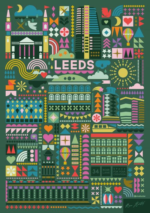 Graphic Leeds Architectural Dream