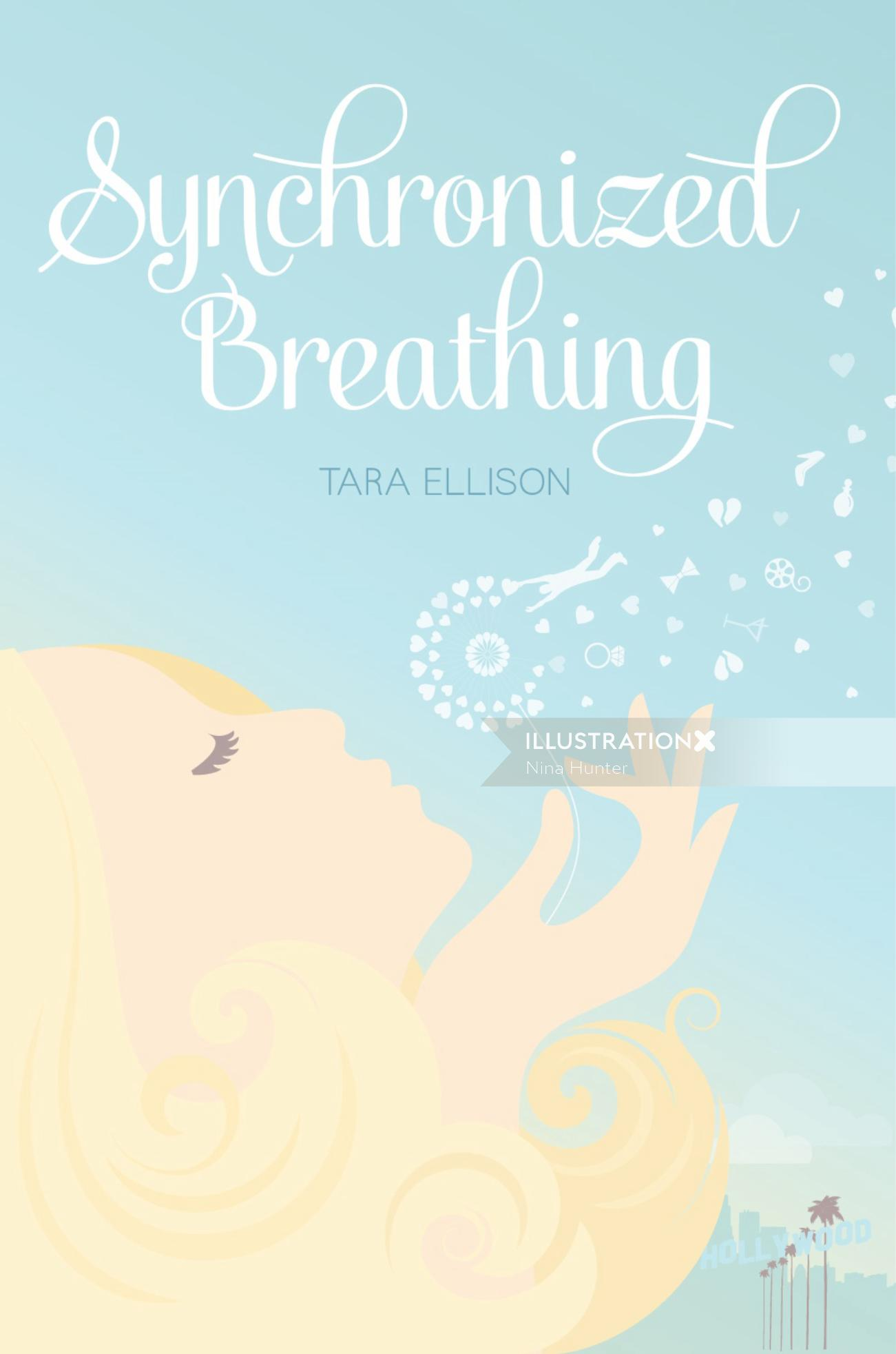 Book cover illustration for Synchronized breathing