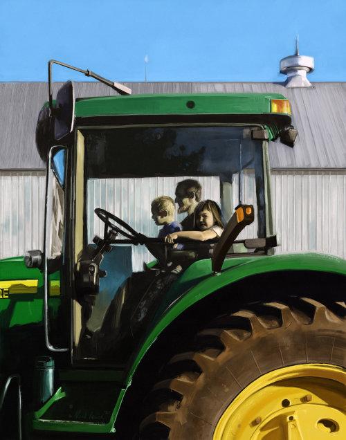 Familia de la granja
