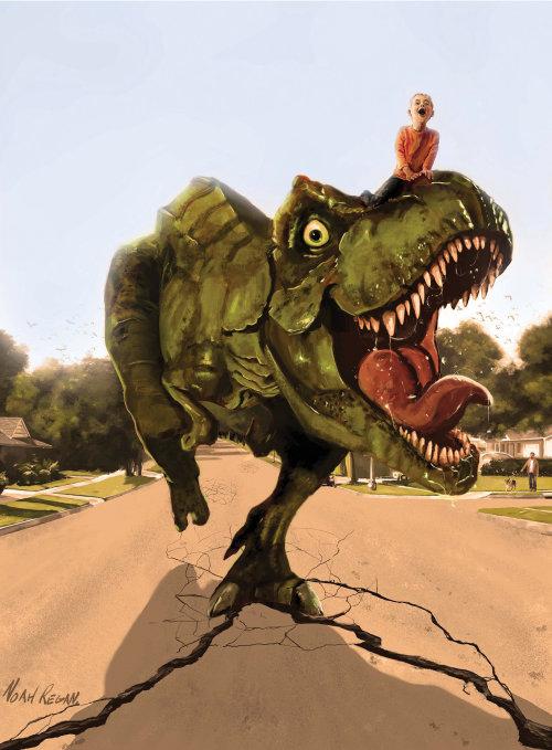 Mi mascota dinosaurio