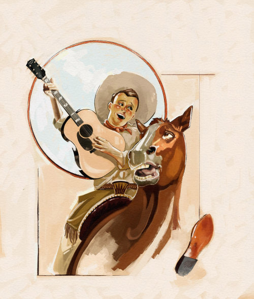Vaquero cantando