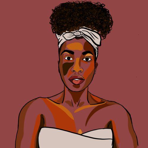 NoelleRx portrait illustration