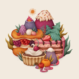 Art of cakes and pastries
