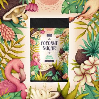 Packaging design of coconut sugar