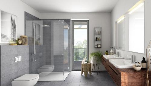 3D / CGI Rendering bathroom